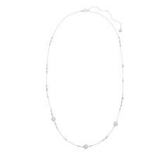 """Swarovski """"Blow"""" Long Necklace  *  #Swarovski #Jewelry #Crystals #Necklace #FallWinter2014 #MarianaCarmona #JewelleryDesigner #Wedding"""
