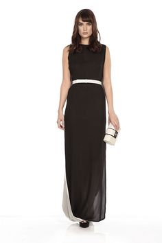 A belt is a quick and easy way to nip you in at the waist, and the Jean gown by Halston Heritage is one of our all time favourites! http://www.wishwantwear.com/dress-hire/halston-heritage/565-jean-gown.html#