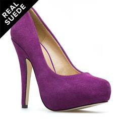 I already have two pairs of purple shoes but you can never have too many!