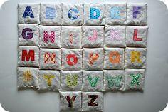 Make This: Spelling Bean Bags