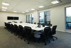 Sala de reunião-MSC – Edifício em Santos – arq. Mirele Busko