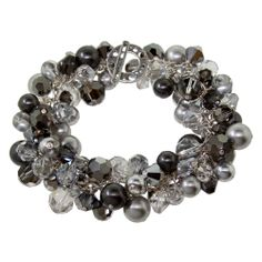 Crystals and pearls (my favorites!), plus the name 'Night Sky', now what could be more inspiring? Love this!