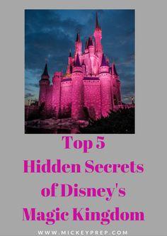 hidden secrets of disney's magic kingdom