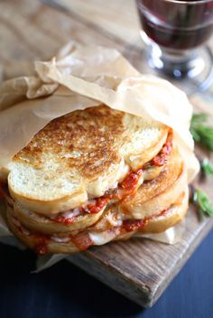 Sandwiches on Pinterest | Grilled Cheeses, Croque Monsieur and Brie