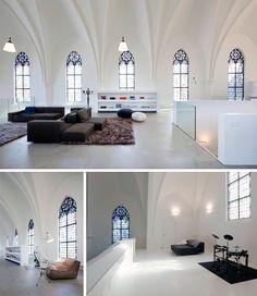 Old Stone Church floor room