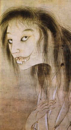 Japanese Ghost Painting
