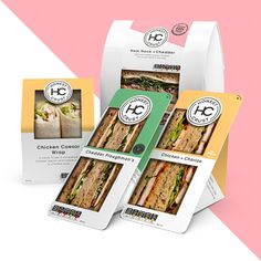 Sandwich Packaging, Chicken Chorizo, Food Waste, New Recipes, Sandwiches, Paninis