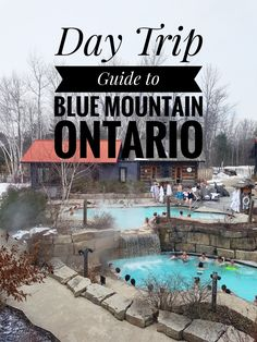Today's post is all about what to see and do in Blue Mountain, Ontario. This makes it the perfect day trip destination for a winter weekend! Brisbane, Melbourne, Toronto Vacation, Vacation Spots, Couples Vacation, Cairns, Tasmania, Alberta Canada, Ottawa