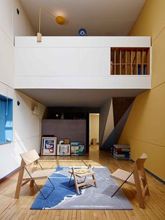 Installation by ÉCAL Students at Apartment N°50 by Le Corbusier   Yellowtrace