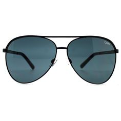 Quay Australia X Shay Mitchell Vivienne Aviator Sunglasses in Black