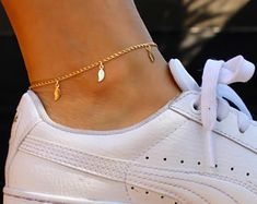 YAHPERN Anklets for Women Girls Color Beads Turquoise Drop Sequin Charm Adjustable Ankle Bracelets Set Boho Multilayer Beach Foot Jewelry (Gold) – Fine Jewelry & Collectibles Gold Jewelry Simple, Rose Gold Jewelry, Cute Jewelry, Gold Jewellery, Jewlery, Jewelry Box, Ankle Jewelry, Leaf Jewelry, Ankle Bracelets