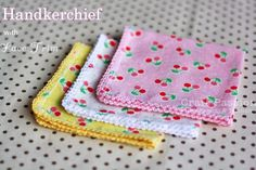 This lace trim handkerchief is so easy to make that you are going to love it! With the step by step photos and tutorial, you can get it done quickly. – Page 2 of 2