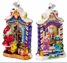 Christopher Radko Workshop Wonder Christmas Ornament - Radko Ornaments