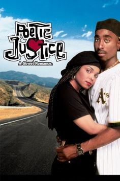 R&B star Janet Jackson made an impressive film debut in Poetic Justice as Justice, a hairdresser at a small salon in South Central Los Angeles. Justice uses her poetry to deal with her grief after her boyfriend is killed in a shooting incident at a Love Movie, Movie Tv, African American Movies, 1990s Movies, Tupac Shakur, 2pac, Movies Worth Watching, Poetic Justice, Movie Posters