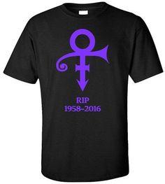Prince Purple Rain T SHIRT Retro rock guitar tour band vintage 80s RIP Memorial Rest In Peace 1958-2016 T Shirts euro sizeS-XXXL