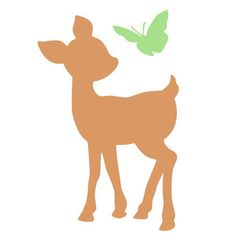 Silhouette Design Store - View Design baby deer and butterfly Fall Leaves Background, Background S, Woodland Creatures, Woodland Animals, Cute Wallpaper Backgrounds, Cute Wallpapers, Silhouette Projects, Silhouette Design, Craft Patterns