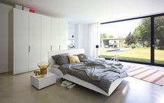 Moderne Doppelbett Ideen- 36 Designer Betten mit markanten Namen ...