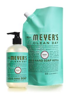 Online Natural Store - Mrs. Meyers Clean Day Basil Hand Soap and Refill Set, $11.98 (http://www.onlinenaturalstore.com/mrs-meyers-clean-day-basil-hand-soap-and-refill-set/)