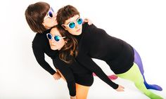 Stealing Sheep – watch their new video for Apparation | Music | The Guardian