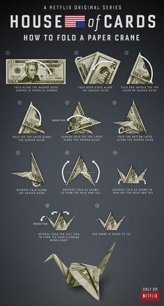 claire underwood origami - Cerca con Google