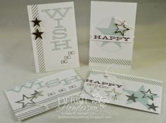 Stampin' Up! Paper Pumpkin July 2014. Debbie Henderson, Debbie's Designs.