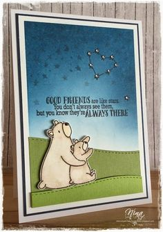 """""""Freunde sind wie Sterne"""", Mama Elephant - Bear Hugs, Avery Elle - Written in the stars"""