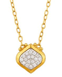 Gurhan 24k Small Galahad Pendant Necklace nVc7VBg