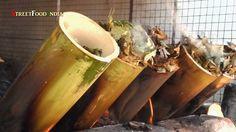 OIL LESS BAMBOO RICE BIRYANI - Bamboo Chicken Biryani - Healthy Food - YouTube