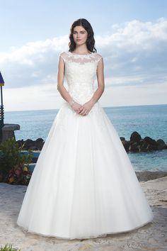 Suknia ślubna Sincerity 3771 2016