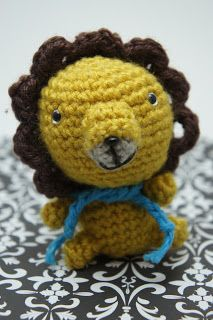 Don't like this lion but there's a Amigurumi stitch calculator. Helpful for making your own Amigurumi's!