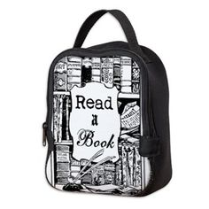 Read A Book Neoprene Lunch Bag