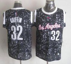 http://www.yjersey.com/nba-clippers-32-blake-griffin-black-city-luminous-jersey.html NBA CLIPPERS 32 BLAKE GRIFFIN BLACK CITY LUMINOUS JERSEY Only 43.00€ , Free Shipping!