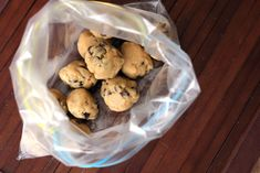 Freeze balls of cookie dough for quick cookies anytime!