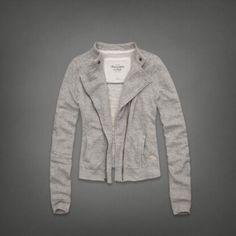 Womens Megan Fleece Jacket | Womens Hoodies & Sweatshirts | Abercrombie.com