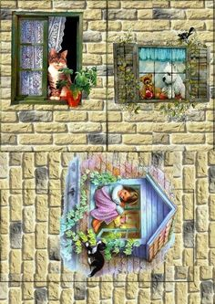 Елена Распечатки - Photo from album Shadow Box Kunst, Shadow Box Art, Clay Wall Art, Operation Christmas Child, Pretty Images, Paper Houses, Christmas Wood, Background Pictures, Vintage Crafts