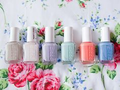 Perfect Essie spring colors