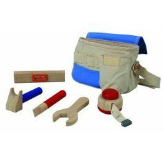 Cinturón de herramientas de Plantoys http://pekaypeke.com/es/construccion/20-cinturon-de-herramientas.html
