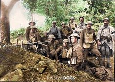 """'The Devil Dogs' at The Belleau Wood Battle  """"In June 1917, after first training in the USA, American soldiers arrived in St Nazaire in successive waves for the next few months. After a second training phase in France, under the instruction of French soldiers, they left for the Front. At the Armistice in November 1918, France counted more than two million American soldiers posted in the Aisne, the Meuse, the Meurthe-et-Moselle, Alsace and the Vosges"""