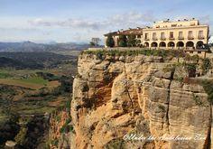 Ronda, a historical town in the mountains of Serranía de Ronda