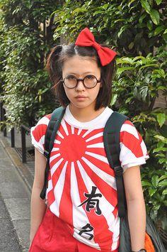 I've always wanted the Japanese rising sun shirt! - Jfashion