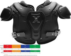 Protective Gear 21224: 2017 Xenith Fly Youth And Intermediate Football Shoulder Pads New X-Large -> BUY IT NOW ONLY: $129.99 on eBay! Youth Football Gear, Shoulder Pads, Gears, Motorcycle Jacket, Baseball, Stuff To Buy, Ebay, Medium, Baseball Promposals