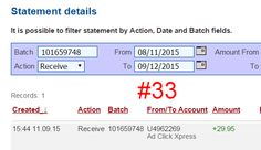 I am getting paid daily at ACX and here is proof of my latest withdrawal. This is not a scam and I love making money online with Ad Click Xpress. I WORK FROM HOME less than 10 minutes and I manage to cover my LOW SALARY INCOME. If you are a PASSIVE INCOME SEEKER, then AdClickXpress (Ad Click Xpress) is the best ONLINE OPPORTUNITY for you. http://adclickxpress.com/?r=n9nfkyb4hbj4&p=mx AdClickXpress.Official