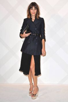 Alexa Chung style - fashion style outfit