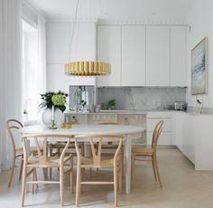 We love this kitchen at Lill-Jans Plan 3a ✨✨ more info at, www.esny.se