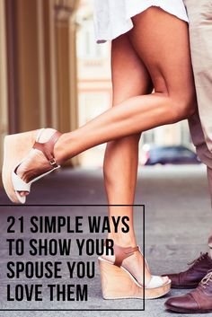 Purchasing a little something is one way for you to show your spouse that you love them. And let's be honest, who doesn't enjoy a gift on those special occasions during the year. Here are 21 ways you can show your spouse how much you love them at different times througho