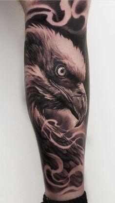 Fotos de Tatuagens masculinas no Ante. Fotos de Tatuagens masculinas no Ante. - Tatuagens no antebraço: 100 desenhos masculinos incríveis Eagle Tattoo Forearm, Forearm Band Tattoos, Eagle Tattoos, Dope Tattoos, Tattoos For Guys, Tattoos Masculinas, P Tattoo, Tattoo Fonts, Owl Tattoo Design