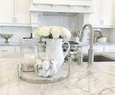 Image result for Decorating a kitchen counter