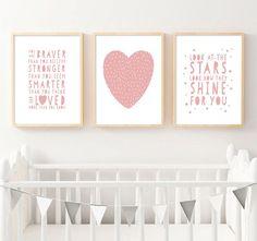 Baby Nursery Decor, Nursery Wall Art, Nursery Quotes, Kids Room Wall Art, Home Decor Wall Art, Room Decor, Room Art, Art Decor, Kids Canvas Art