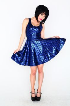 Blue Blood skater dress