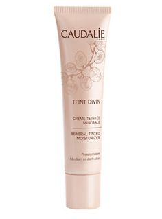 012934 Caudalie Teint Divin Facial Pieles Oscuras - 30 ml.